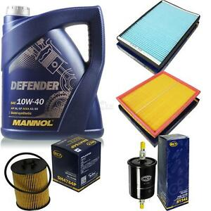 Inspektionspaket-Filter-Set-MANNOL-10W40-Motoroel-Opel-Zafira-A-10135897