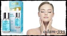 Delia Anti-arrugas ácido hialurónico suero cara y cuello Crema Hidratante Piel Radiante