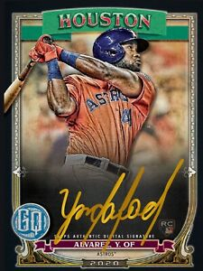 Topps-Bunt-2020-YORDAN-ALVAREZ-ICONIC-Black-Gold-Gypsy-Queen-Sig-DIGITAL-CARD