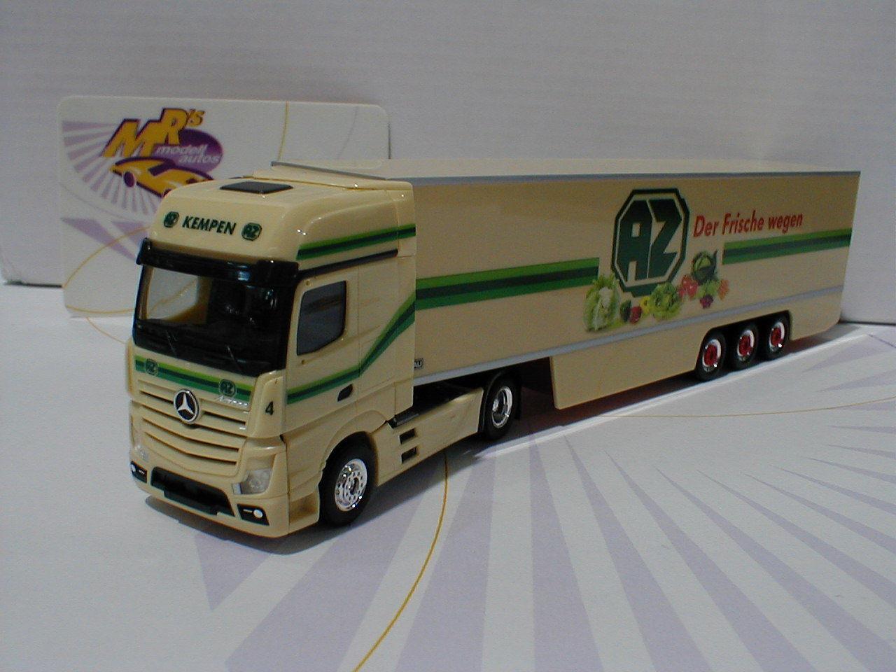 Herpa 306546 Mercedes-Benz Actros Actros Actros Gigaspace Kühlkoffer-SZ   AZ Kempen   1 87 1b31d5