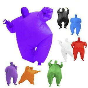 Inflatable-Suit-Fancy-Dress-Fan-Operated-Costume-Fat-Masked-Blow-Up-Chub