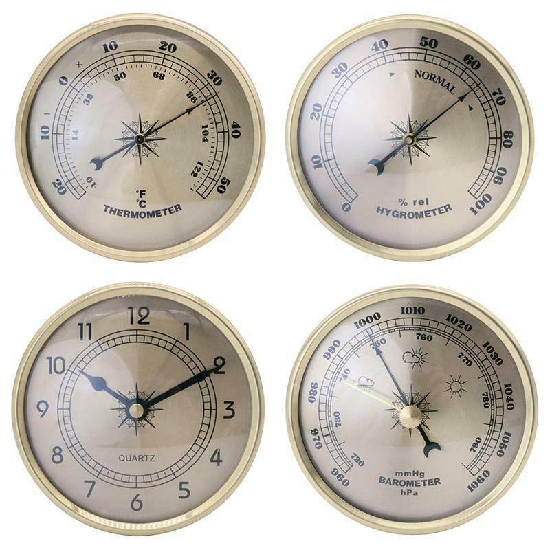 Thermometer Wall Hanging Wireless Hygrometer Indoor Outdoor Office Decorations