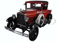 1931 FORD MODEL A PICKUP TRUCK RUBELITE RED 1/18 DIECAST MODEL BY SUNSTAR 6111