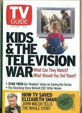 TV GUIDE- 2003 -KIDS & TELEVISION WARS+ STAR TREK + JOHN WALSH - ELIZABETH SMART