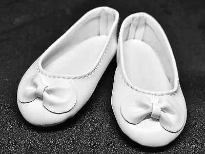 Black White Bow Flat Ballet Doll Shoes for 1//4 MSD BJD Minifee Resinsoul