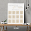 Personalised-Modern-Wedding-Seating-Plan-Planner-Table-Plans-Chart-A1-A2-A3 thumbnail 8