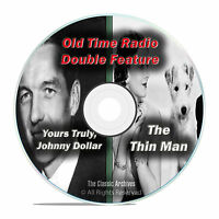 Yours Truly, Johnny Dollar, The Thin Man, 802 Shows Old Time Radio, Otr, Dvd F64