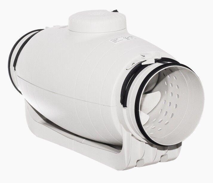 Schallgedämmter Rohrventilator TD SILENT Soler & Palau - ALLE MODELLE 2/3-Stufig