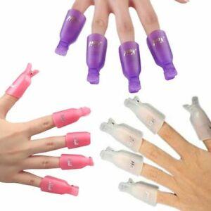 10Pcs-Plastic-Acrylic-Nail-Art-Soak-Off-Clip-Cap-Remover-Wrap-Tool-UV-Gel-Polish