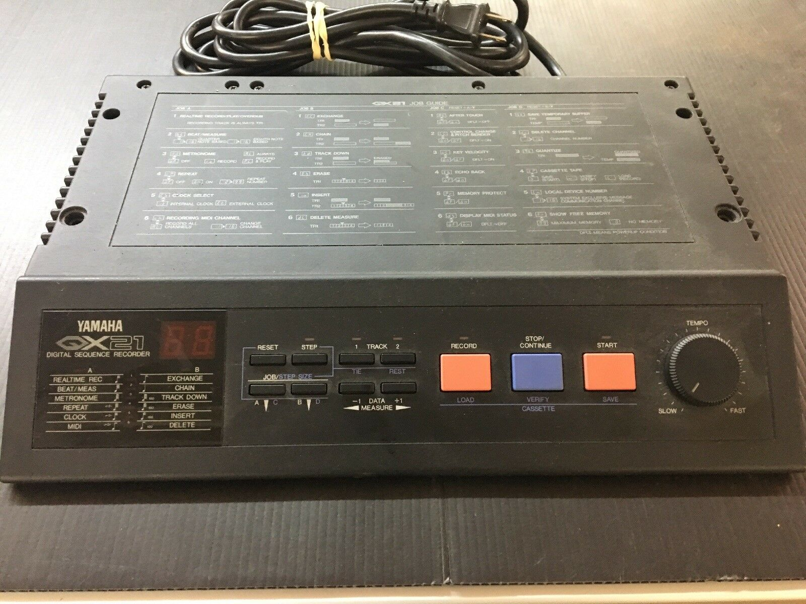 Yamaha QX21 Digital Sequencer Recorder  Vintage E52
