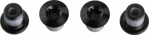 Shimano XT FC-M8000 Extérieur Chainring Bolts pour 2X Pédalier Lot de 4