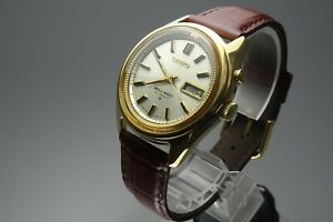 OH-Vintage-1968-JAPAN-SEIKO-BELL-MATIC-WEEKDATER-4006-7020-27Jewels-Automatic