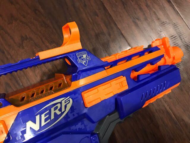 nerf gun tactical red dot reflex sight 3d printed ebay
