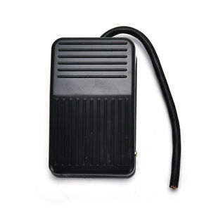 SPDT-Nonslip-plastic-Momentary-Electric-Power-Foot-Pedal-Switch-USEFUL-NEW-X1-WC