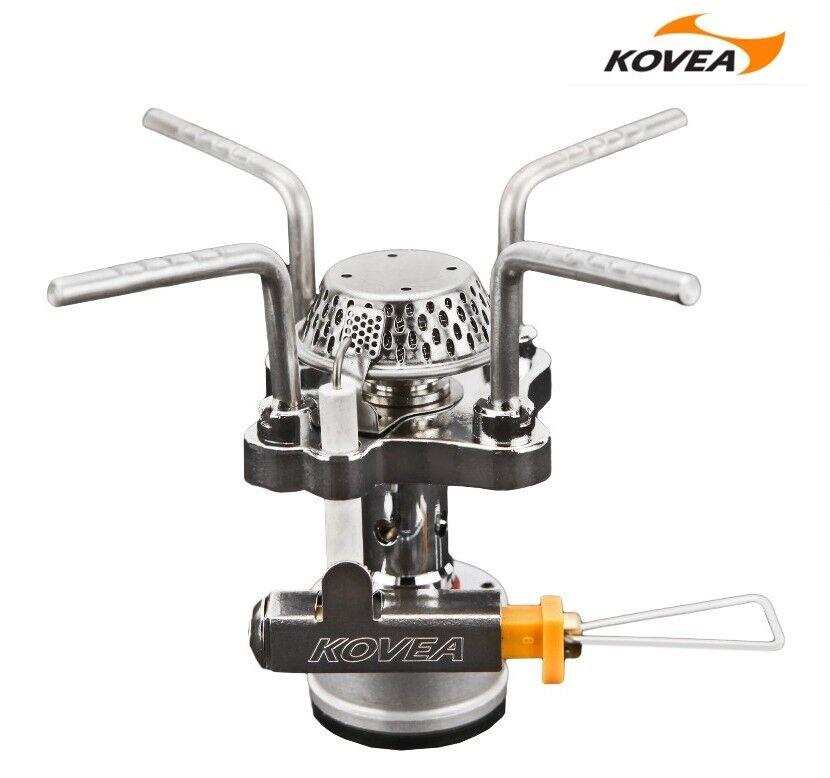 KOVEA X1 SOLO Gas Stove KB 0409 &COBRA Hose Gas 0103 Aadapter KA 0103 Gas Outdoor Cooking 4097c6