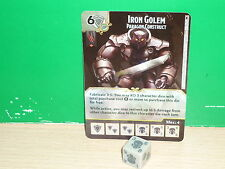 D&D DICE MASTERS Faerun Under Siege - 125 Iron Golem
