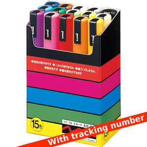 Uniball-Posca-PC-5M-15-Marker-set-with-tracking