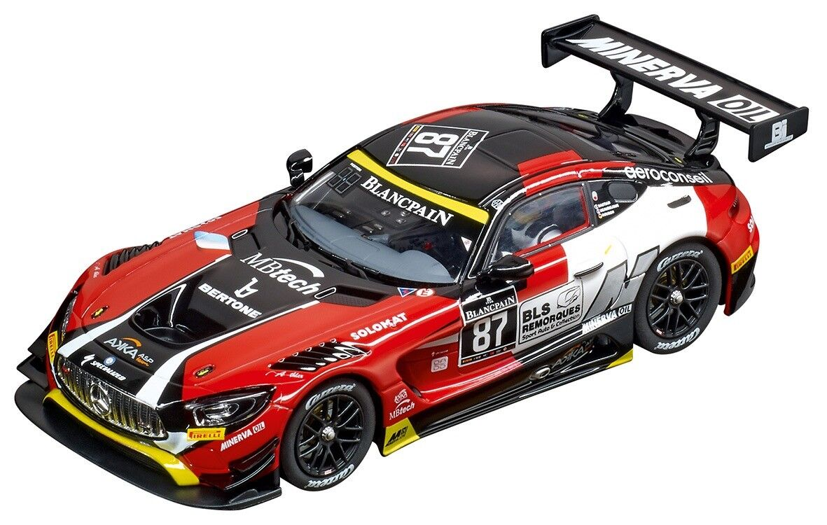 Carrera Digital 132 Mercedes-AMG GT3, AKKA ASP, No.87, 1 32 slot car 30846