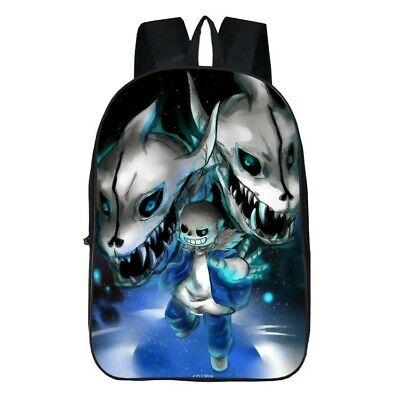 Anime Undertale 3D Print Children Travel School Backpacks Boy Girl Bags V10