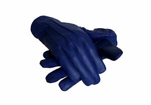Men/'s Leather Costume Dress Gloves Unlined Medieval Victorian Steampunk XL