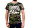 """Indexbild 1 - Tunnel Shirt """"UNDERGROUND RULEZ"""" Camouflage Boys • Größe XL"""