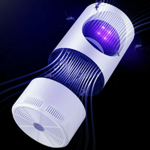 USB Electric Mosquito Killer Bug Light Insect Fly Zapper Trap Catcher Lamp Home