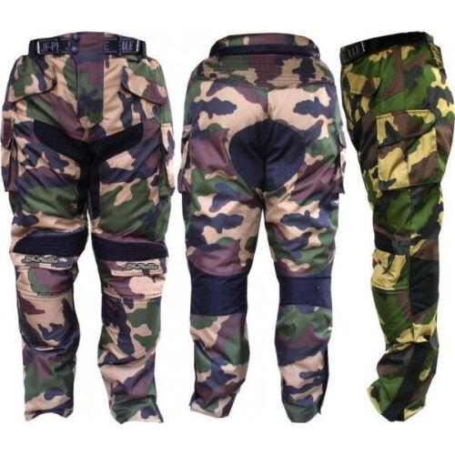 Pantalone Moto in Cordura JF-Pelle 3132 M\V Mimetico