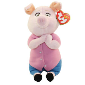 Details About Ty Beanie Baby 6 Rosita The Mom Pig Sing Plush Stuffed Animal Mwmt S Heart Tags