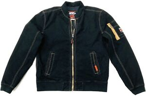 nero Duty Bomber L Superdry in Rookie taglia wqwaFI8