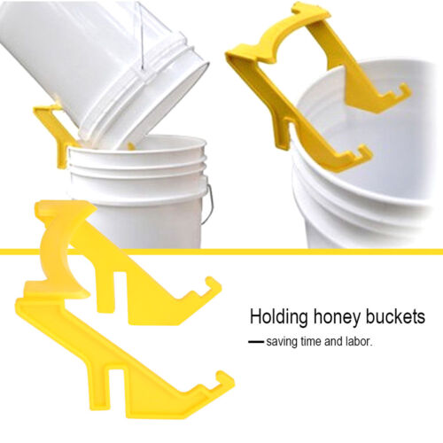 Bee Holder Honey Bucket Rack Frame Grip Holder Bee Holder Rack Honey standQO