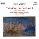 Paganini: Violin Concertos Nos. 3 & 4 (CD, Dec-2000, Naxos (Distributor))