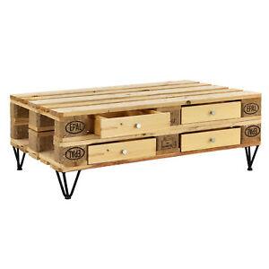 Details zu [en.casa]® 4x Schublade für Europaletten Regal Kommode  Couchtisch Paletten Möbel