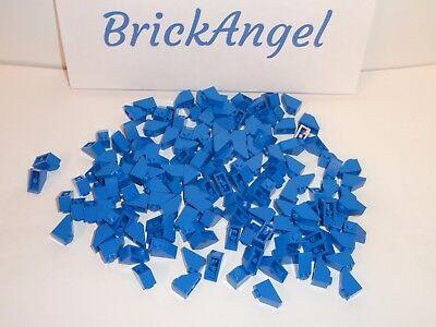 LEGO Magenta Slope 45 2x1 Lot of 100 Parts Pieces 3040