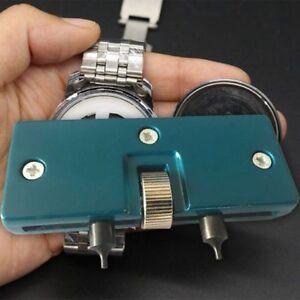 Verstellbar-Uhren-Reparatur-Werkzeugkoffer-Offner-Entferner-Schraube-Gut-cRUWK