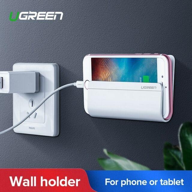 25edceb2754 Ugreen Soporte Móvil a Pared Carga de Celulares y Tabletas Montado para  iPhone 8