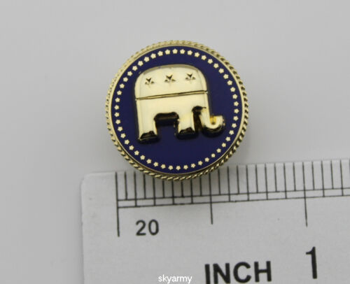 US Presidential President  Republican  Elephant Lapel Pin repro