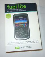 Case-mate Fuel Light Rechargeable Battery Pack - Blackberry Tour 9630-cm010-nib
