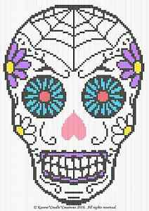 Tutorial Catrina (Skull) Amigurumi Crochet - YouTube | 300x212