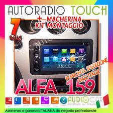 "AUTORADIO 7"" 2din DVD specifica per ALFA ROMEO 159  Mp3,HD,GPS,DivX,RDS Stereo ."