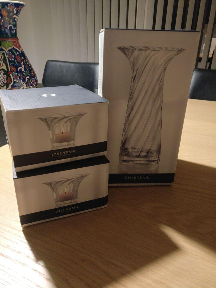 Vase, Vase og lysestage sæt, Rosendahl