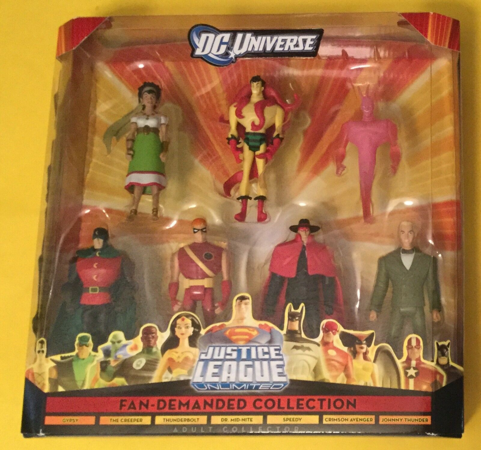 DC UNIVERSE Justice League Unlimited Fan-Demanded Collection Box Set JSA JLU
