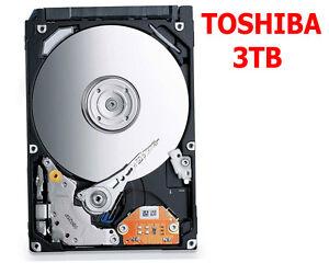 HARD DISK INTERNO  3,5 TOSHIBA 3TB DT01ACA300 3000GB SATA3 6Gb/s 7200rpm