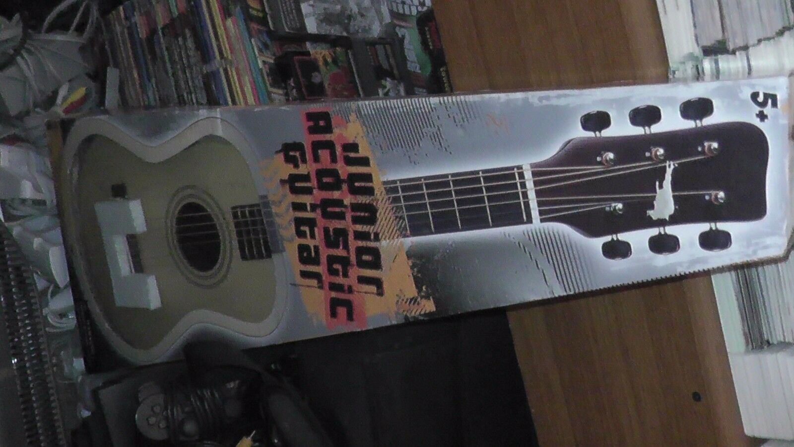 Junior Acoustic Guitar Nice Works Well With Box For Boys Girls Ages 5+ Complete