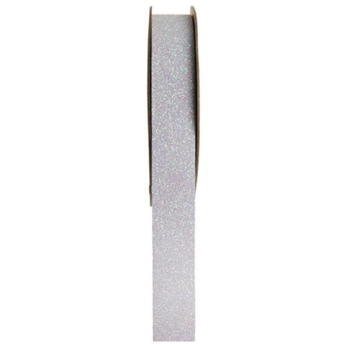 SALE Dekoband klebend Glitter 15 mm x 5 m Schleifenband Sticker Bänder
