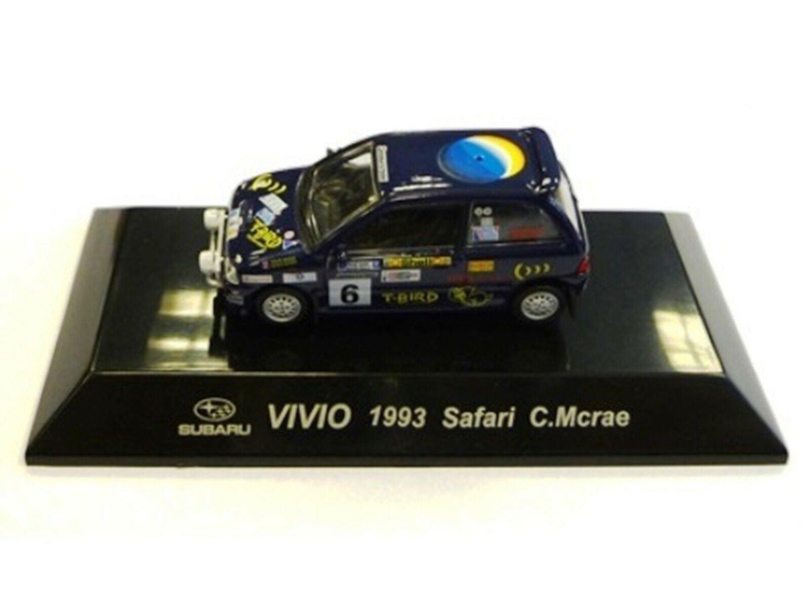 WOW EXTREMELY RARE Subaru Vivio 4WD Turbo McRae Safari 1993 WRC 1 64 CM's Kyosho