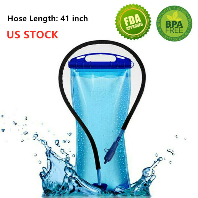 2L BPA Free Water Bladder Water Bag Water Reservoir Hydration Pack Replacement