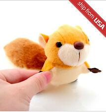 Squirrel Plush Stuffed Animal Toy Keychain phone charm Cute Kawaii suction cup