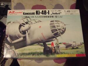 1 48 Kawasaki Ki 48-I AZ Model Kit n°AZ 4833 - Italia - 1 48 Kawasaki Ki 48-I AZ Model Kit n°AZ 4833 - Italia