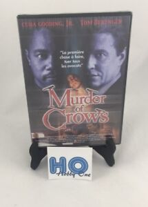 Murder-Of-Crows-Cuba-Gooding-Jr-Tom-Berenger-Pal-DVD-Nuevo