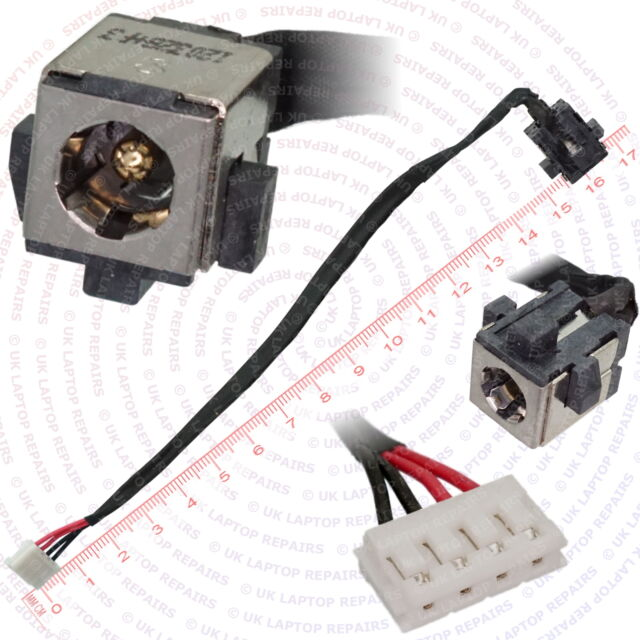 DC Power-Jack Socket and Cable Wire Toshiba Satellite C670-14P C670 14P